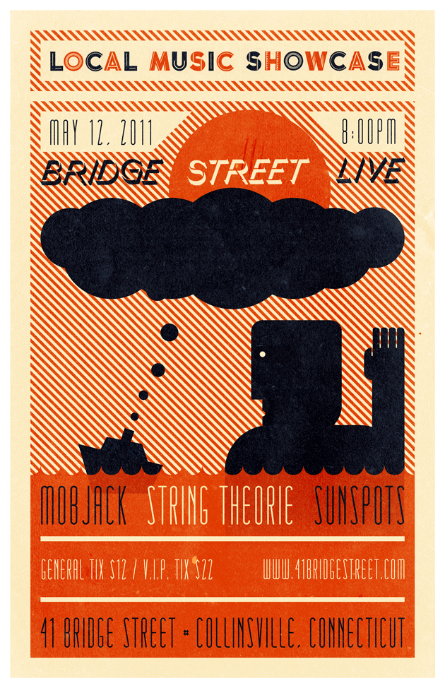 Bridge St. Cook Poster