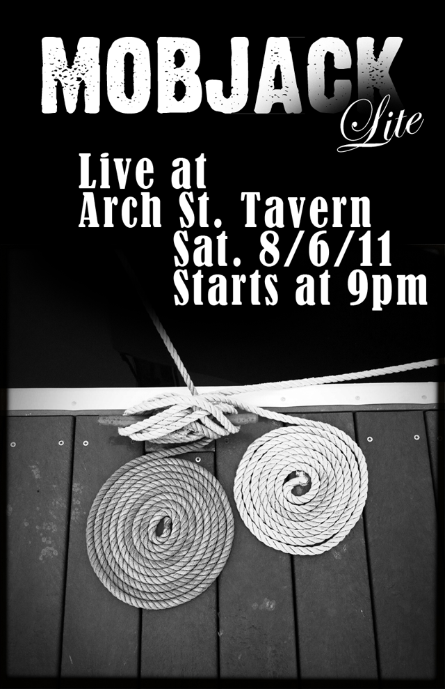 Mobjack Lite at Arch St. Tavern August 6th 2011